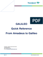 From Amadeus to Galileo