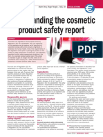 Understanding CPSR Personal Care Magazine March 2014