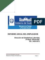Guia Para Presentación Del Informe