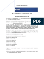 Boletín Informativo Infovalmer 105 10dic2014