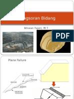 Revisi Geoteknik VII Longsoran Bidang