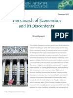 The Church of Economism and Its Discontents