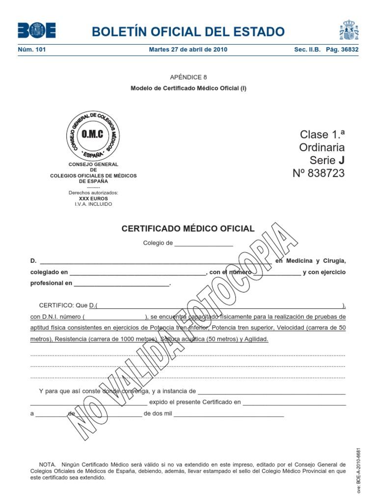 Increíble Comprobante Médico Certificado Muestras De Reanudación ...