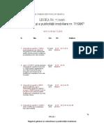Legea 7 Din 1996, Rep, Act Aplicabil Din 21.3.2014