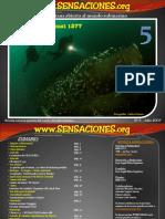 Revista de buceo Sensaciones Numero 5