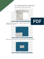 Instalacion y Configuracion DNS en Server 2008