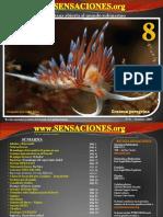 Revista de buceo Sensaciones Numero 8