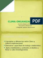 Cultura y Clima Organizacional 2016