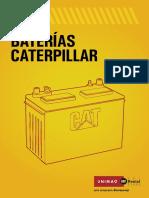 Baterías Caterpillar
