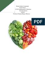 dietary analysis