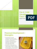 pre-k child development case study presentation