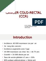 2ème Conférence Du 16 Avril 2016 CANCER COLORECTAL