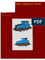 Gmax Tutorial - A Simple Diesel Loco, Part One