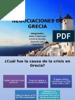 Negociaciones de Grecia