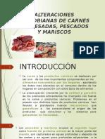 Carnes Procesadas, Pescados y Mariscos
