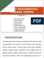 Format Dokumentasi Timbang Terima