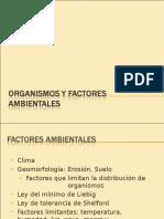 Organismos y Factores