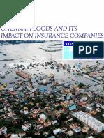 Chennai Floods - IRDA
