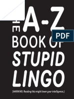 The A–Z Book of Stupid Lingo Book