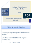 Indiana Child Abuse and Neglect Hotline
