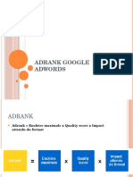 AdRank Google Adwords