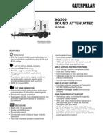 Caterpillar XQ300 Towable Diesel Generator Set