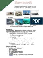 shipwreckedreport guidelines