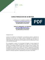 Caracterizacion de Un Motor Dc