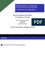 Integración Numérica (I Parte)