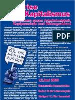 Wir zahlen nicht für eure Krise! - Aufruf Berlin