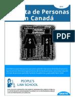 Trata de Personas Canada