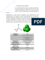 Tetracloruro de Carbono