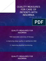 Quality measures for care of patients with insomnia.pptx