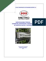 Especificaciones T Icas Servicio Networking