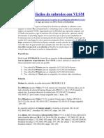 79028641 Ejercicios Faciles de Subredes Con VLSM