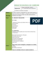 Rubrica de Planeacion y Organizacion 8b