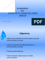 Communication Skills Ppt Effective Communic