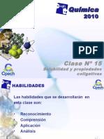 CLASE.15 Solubilidad Prop. Colig.