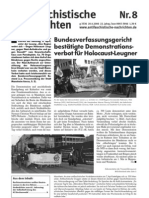 antifaschistische nachrichten 2006 #08
