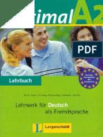 Optimal A2 - Lehrbuch Für Deutsch Als Fremdsprache