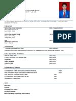 CV Muhammad Najma