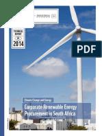 Corporate Renewable Procurement in Sa Report Final