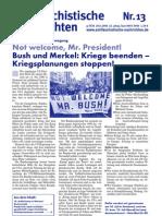 antifaschistische nachrichten 2006 #13