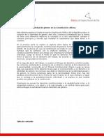 Identidad de Género en la Constitución chilena