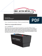 Automobile Battery _ the Auto Buzz