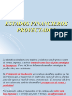 Tema 8 - Estados Financieros Proyectados