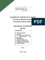 Silabo Historia de La Medicina 2015-i