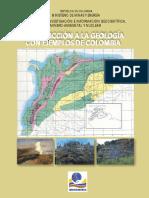 introducción a la geología fisica con ejemplos de colombia