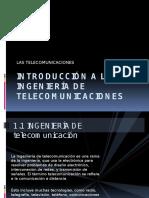 Capitulo 1 Introduccion a Las Tele