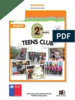 Teens Club 2°Medio 2016 WORKBOOK